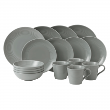Royal Doulton exclusively for Gordon Ramsay Maze Dark Grey 16 Piece Set
