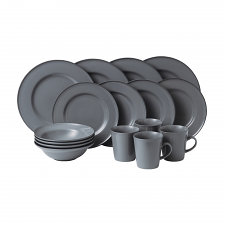 Royal Doulton exclusively for Gordon Ramsay Union Street 16 Piece Set Grey