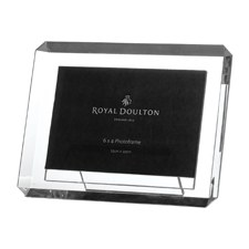Royal Doulton Radiance Giftware Bevelled Frame 4 x 6""