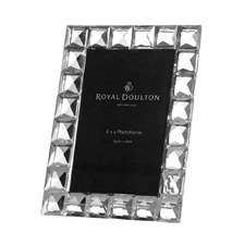 Royal Doulton Radiance Giftware Diamond Frame 4 x 6