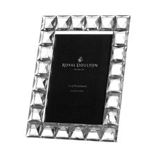 Royal Doulton Radiance Giftware Diamond Frame 5 x 7