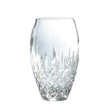 Royal Doulton Dorchester Crystal Giftware Vase 25.5cm