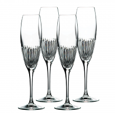 Royal Doulton Calla Crystal Flute Set of 4