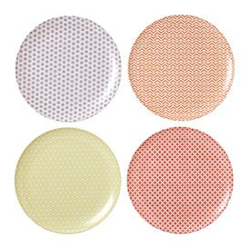Royal Doulton Outdoor Living Pastels Plate 25cm (Set of 4)