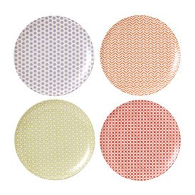 Royal Doulton Outdoor Living Pastels Plate 20.5cm (Set of 4)