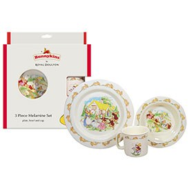 Royal Doulton Bunnykins Melamine 3 Piece Set