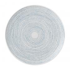 ED Ellen DeGeneres Plate 21cm Polar Blue Dots
