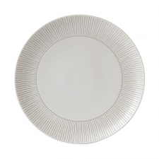 ED Ellen DeGeneres Crafted by Royal Doulton  Plate 28cm Taupe Stripe