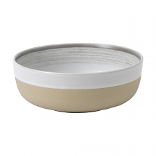 ED Ellen DeGeneres collection - Bowl 17cm Brushed Glaze Soft White