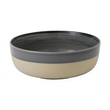 ED Ellen DeGeneres crafted by Royal Doulton collection - Bowl 17cm Brushed Glaze Charcoal Grey