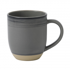 ED Ellen DeGeneres crafted by Royal Doulton collection - Mug 430ml Brushed Glaze Charcoal Grey