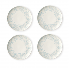 ED Ellen DeGeneres Polar Blue Accents - Plate 21cm Set of 4