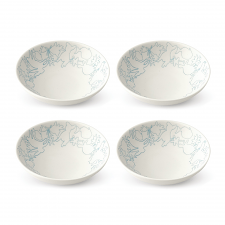 ED Ellen DeGeneres Polar Blue Accents - Bowl 14cm Set of 4