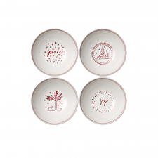 ED Ellen DeGeneres Christmas Bowl 20cm Set of 4