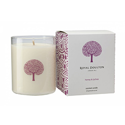 Royal Doulton Fable Candle Honey Lychee