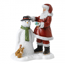 Royal Doulton Santa's Snow Buddy 23cm Figurine