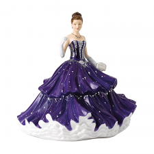 Royal Doulton Crystal Ball Graceful Promenade HN 5833