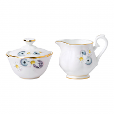 Alpha Foodie Sugar & Creamer Set Pink