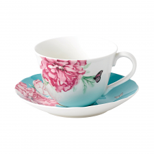Miranda Kerr Everyday Friendship Teacup & Saucer Blue