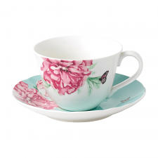 Miranda Kerr Everyday Friendship Teacup & Saucer Green