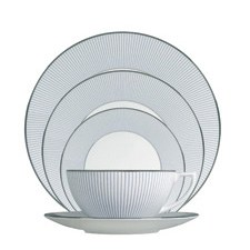 Jasper Conran At Wedgwood Pinstripe 5 Piece Place Setting