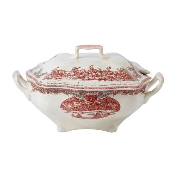 Johnson Brothers Twas the Night Covered Serving Dish 1.2L