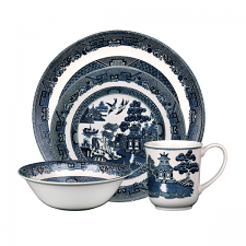 Johnson Brothers Blue Willow Classic 4 Piece Place Setting