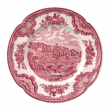 Johnson Brothers Old British Castles Pink Plate 16cm