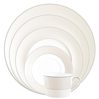 Monique Lhuillier Waterford Etoile Platinum 5 Piece Place Setting