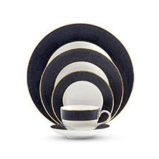 Monique Lhullier Waterford Stardust Night 5 Piece Place Setting