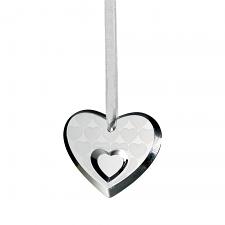 Royal Doulton Christmas Ornament Heart 6cm