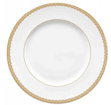 Waterford Lismore Lace Gold Plate 27cm