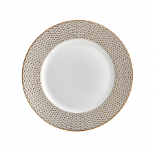 Waterford Lismore Diamond Gold Plate 20cm