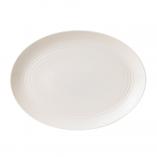 Royal Doulton Gordon Ramsay Maze White Oval Platter 34cm