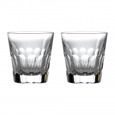 Jeff Leatham Icon Double Old Fashioned Tumbler Pair