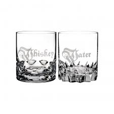 Waterford Short Stories Whiskey & Water DOF Tumbler Pair