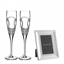 Waterford Celebration Flute Pair and Frame