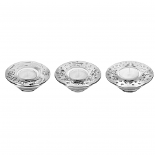 Waterford Crystal Holiday Votive Set of 3