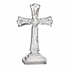 Waterford Crystal Standing Cross 8""