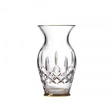 Waterford Lismore Gold Vase 20cm