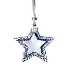 Waterford Topaz Ice Star Crystal Ornament 2020