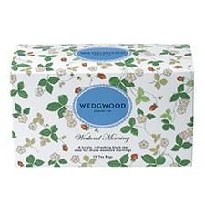 Wedgwood Wild Strawberry Weekend Mornings Tea Bags 25
