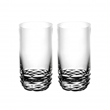Rogaska Reflection Highball Pair