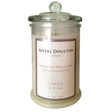 Royal Doulton Lemon & Lime Soy Wax Candle