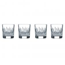 Royal Doulton Rain Crystal Tumbler Set of 4
