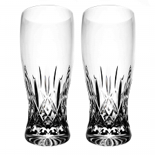 Waterford Lismore Classic Pint Glass Pair