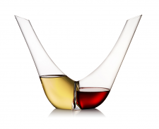 Rogaska Aurea Decanter Duo