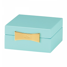 Kate Spade New York Garden Drive Square Jewellery Box Turquoise 10cm