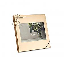 "Vera Wang Wedgwood Love Knots Gold Frame 4""x6"""