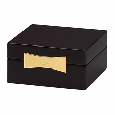 Kate Spade New York Garden Drive Square Jewellery Box Black 10cm